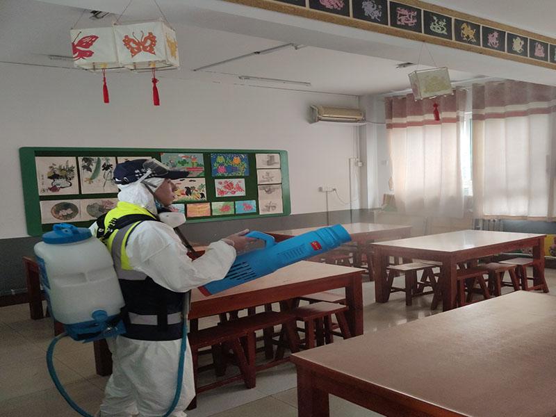 教室消杀案例展示