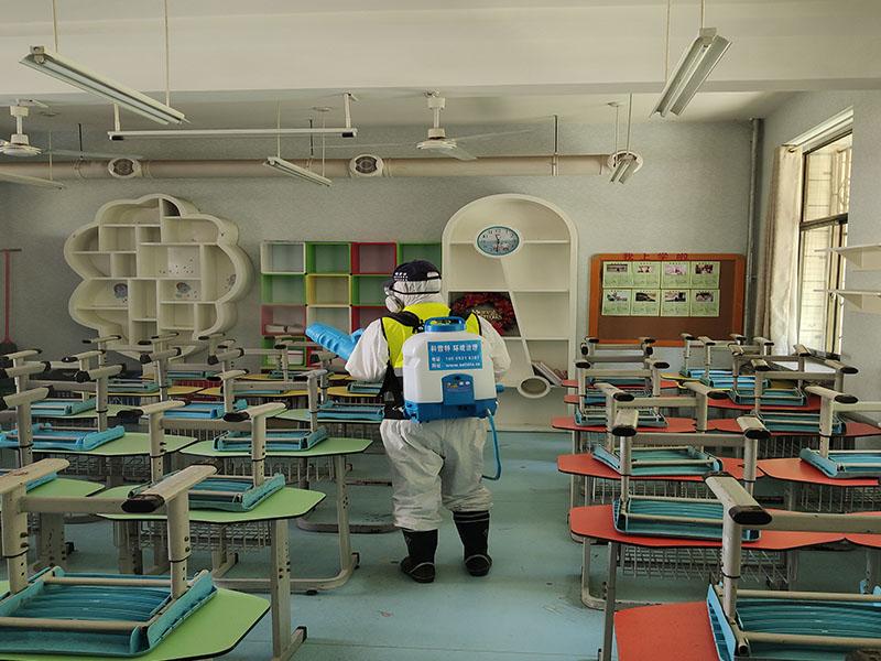 教室消杀案例