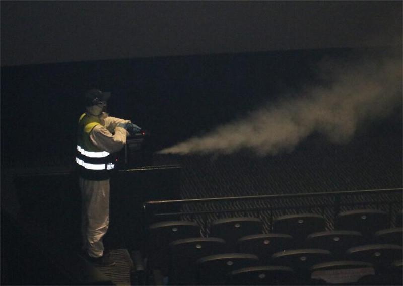 电影院消毒杀菌服务