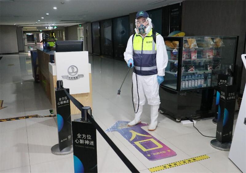 走廊消毒杀菌服务