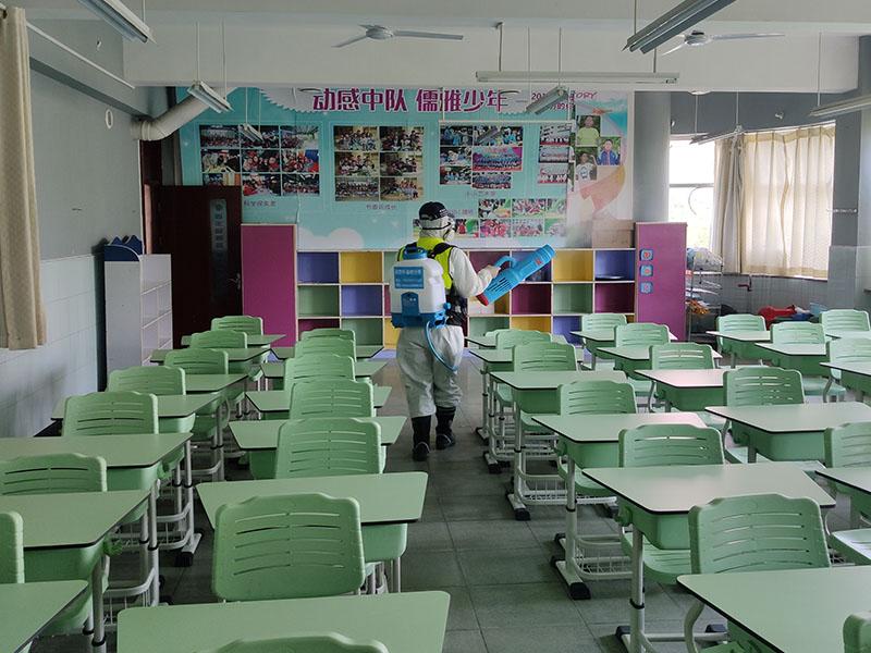 学校室内消杀案例