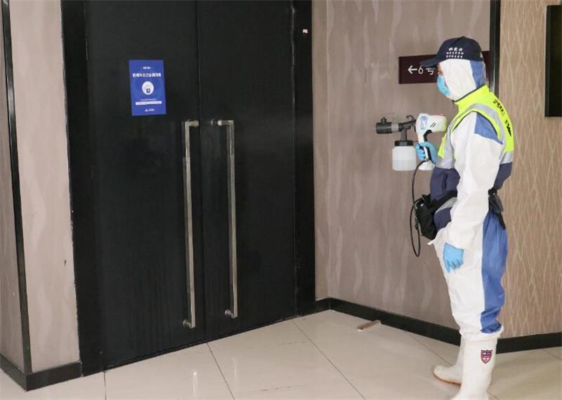 门把手杀菌消毒